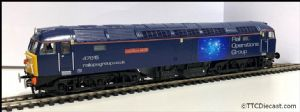 Bachmann / Rainbow railways Class 47 47815 'The lost boys' Rail operations group Respray